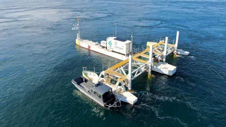 New tidal energy project in Canada