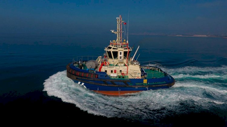 Med Marine's tugboat was delivered to Abu Dhabi Ports
