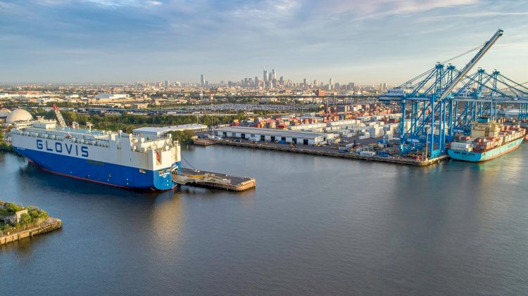New containerized auto shipping facility opens at PhilaPort