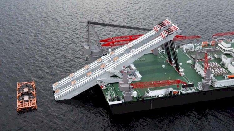 Allseas presents a unique Jacket Lift System