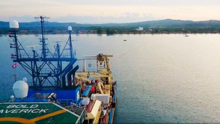 New International submarine cable connects Maldives to Sri Lanka