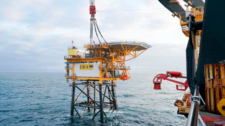 Sillimanite gas field successfully comes on stream in the Southern North Sea