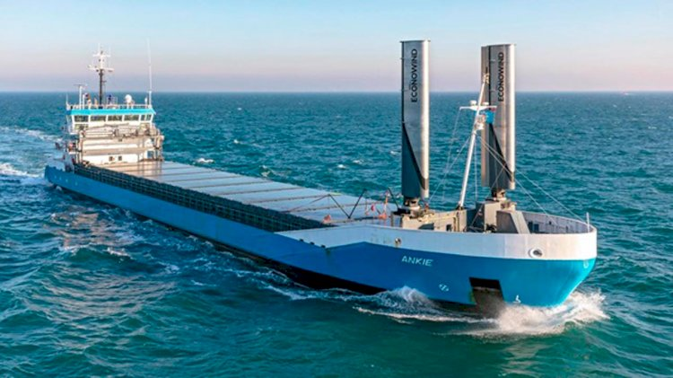 Key wind-assist propulsion installation starts North Sea operations