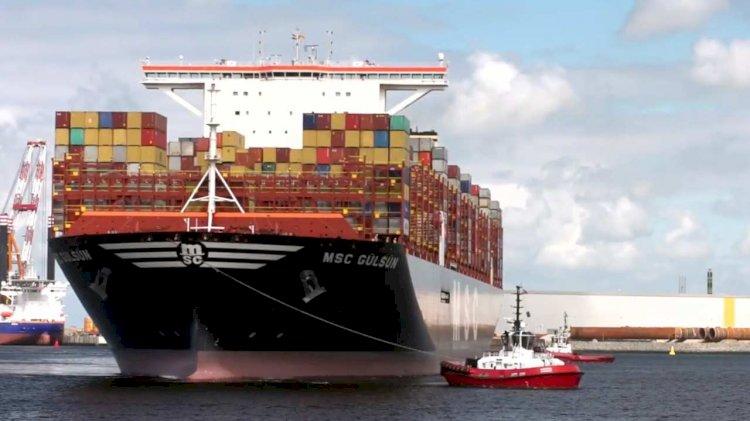 MSC Gülsün class vessels use the world's first on-deck firefighting monitors