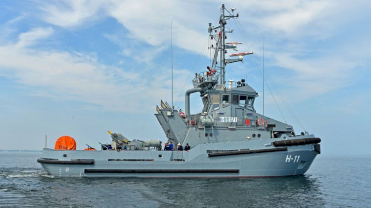 First of six multi-role tugs delivered to the Polish Navy