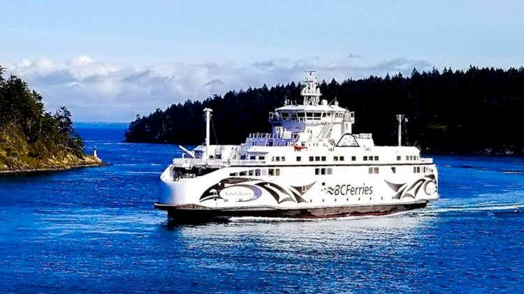 BC Ferries selected Wärtsilä system for its new ferry